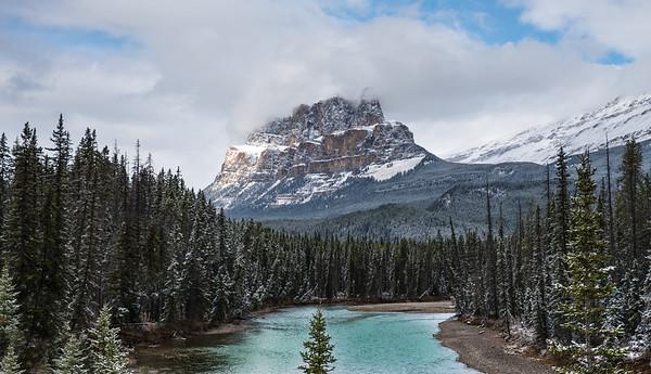 Castle Mountain, Banff National Park- Large