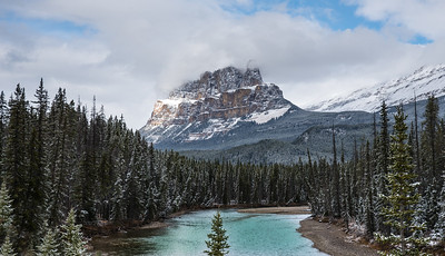 Castle Mountain, Banff National Park- Large