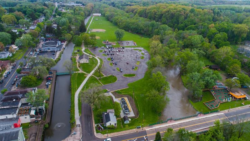 Buckeye Drone Photos Canal Fulton, Ohio