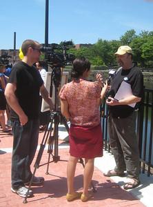 Interviewing artist Bruce Fowler