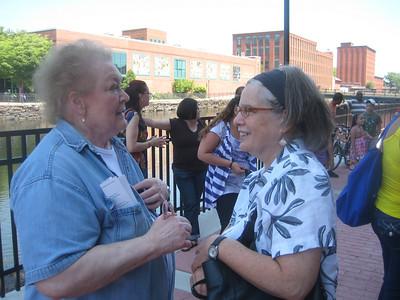 Peggy Melanson and Nancy Sachs