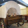The newest edition to the library at Mary Jo Sheppard Elementary is a covered wagon, build by parent volunteers. A grant from the MISD Education Foundation funded the materials for the wagon. The wagon will be used for story time, as well as a quiet place for students to read.