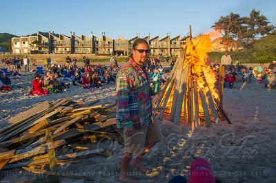Sandcastle Bonfire