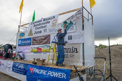 Sandcastle Contest AM