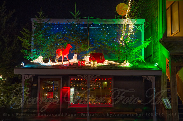 Cannon Beach in Lights 2014