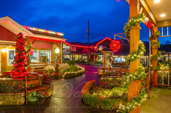 Cannon Beach in Lights 2015