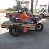 "The ""sag wagon"" consisted of two mid forty's Knuckles using box delivery side car chassis."