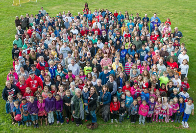 Farewell to Cannon Beach Elementary Gathering. June 13, 2013. Cannon Beach, Oregon.