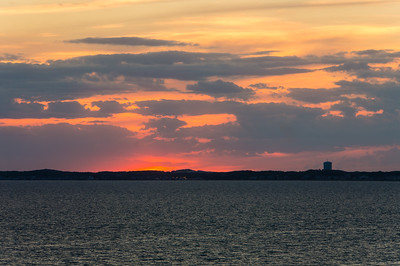 Sunset over Provincetown