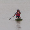 Scott on paddle board