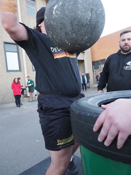 Capital Novice Strongman comp 2