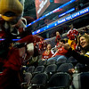 Capitals Season Ticket Holder Skate: Slapshot hastles a Steelers Fan