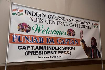 Capt Amrinder Singh @ Fresno, CA