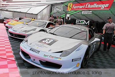 Ferrari of San Francisco's Challenge team.