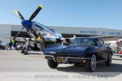 2012 Motorsports Revival at the Monterey Jet Center, presented by Gordon McCall.  Photos by Maurice Liang.