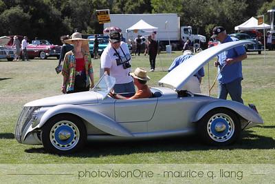 The late Jay Eitel's custom-built '37 Ford makes an appearance in Jay's honor.