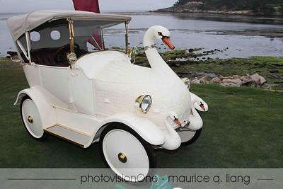 Maharaja's baby Cygnet swan car.
