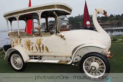 Maharaja's Swan Car.