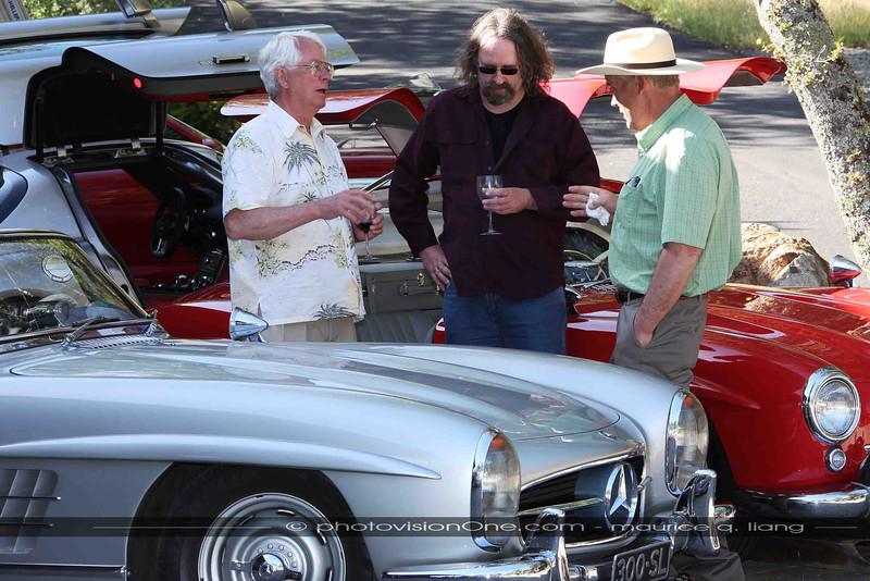 Car guys talkin' cars.