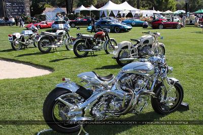 Motorcycle exhibit.