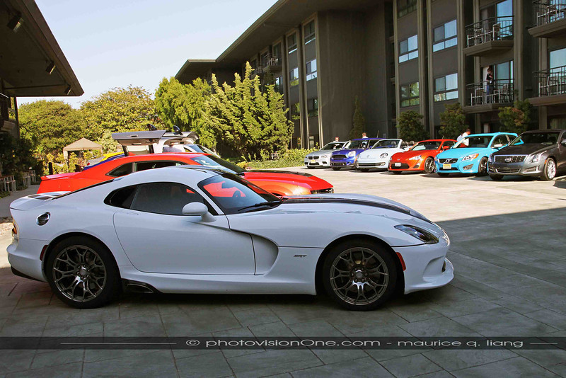 Event is sponsored by SRT and features the 2013 SRT Viper.