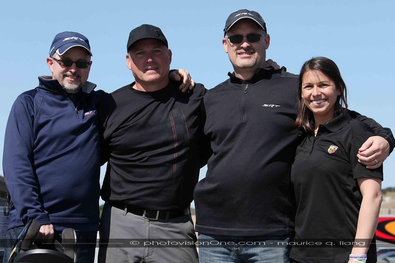 The Chrysler crew.