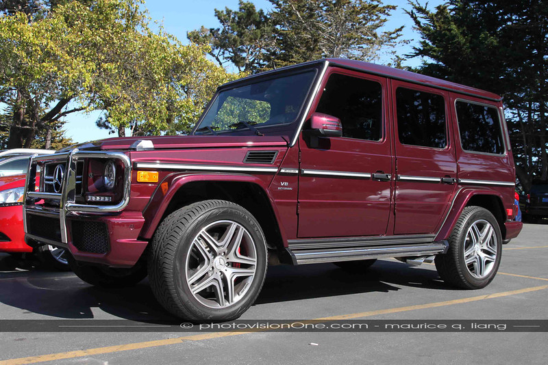 If you're going to buy a G-wagen, you might as well get the badass AMG version...