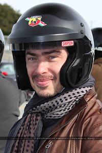 Daniel is a stylin' race driver!