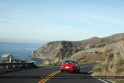 Heading up the California coast.