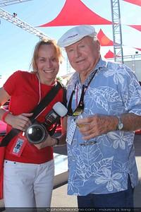 Hana with Bruce Meyers.