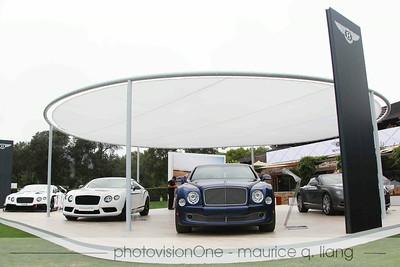 Bentley exhibit.