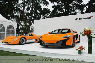 McLaren's booth