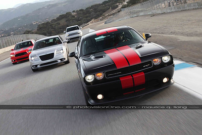 2014 SRT Track Experience at Laguna Seca.  Feb 16, 2014.