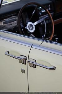 Signature design of the Lincoln Continental.