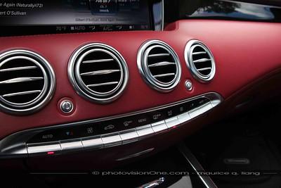 Mercedes interior.