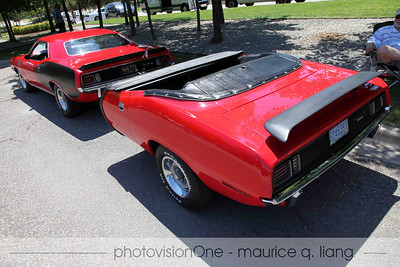 '71 'cuda with matching trailer.