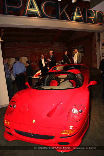 Guests check out the F-50.
