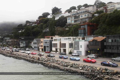Ferraris in Sausalito.  Looks like Europe!