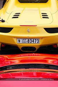 Dubai Ferrari club visits California.