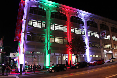 Grand opening of the San Francisco Fiat dealer, October 15, 2013.