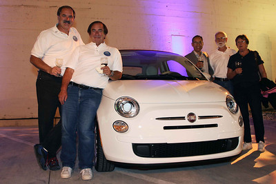 Members of the Fiat club.