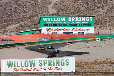 SPT's Track Day at Willow Springs Raceway, January 5, 2013.