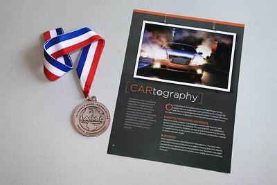 Hana Krulova's Dark Knight photo wins bronze award.