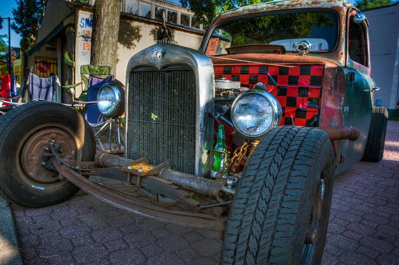 Checkerboard Car