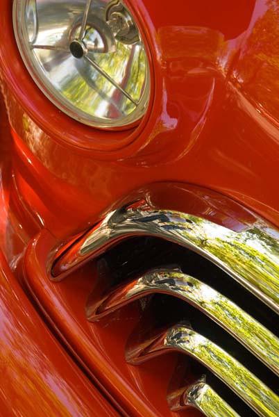 9/2010:  Detail at car show.