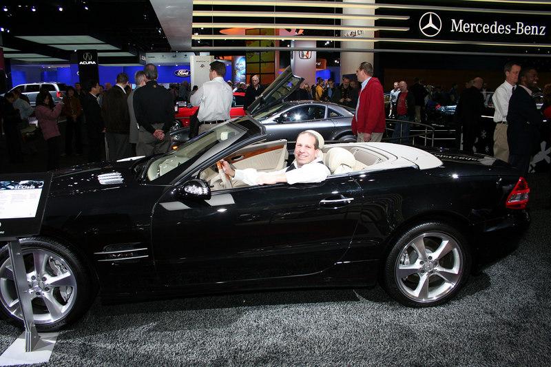 Mercedes Benz Roadster - Uncle J
