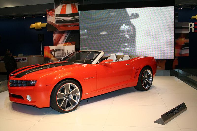 Chevy Camero Concept Car
