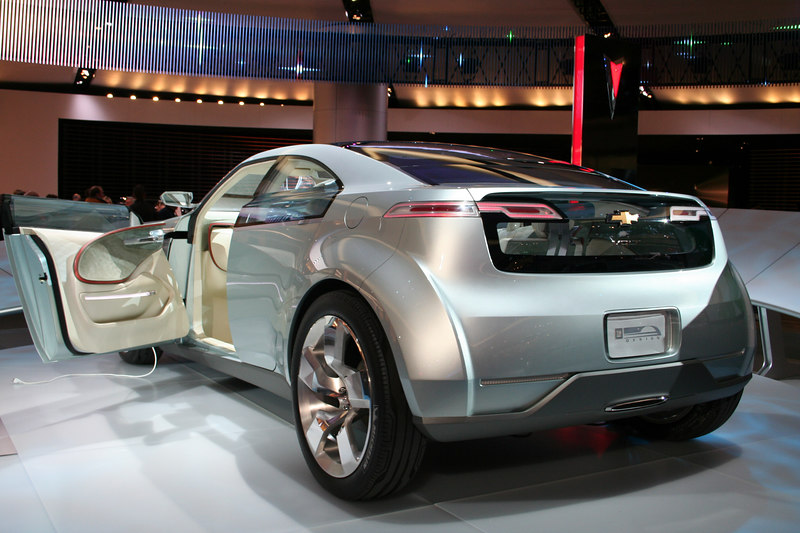GM Volt Hybrid Concept Car