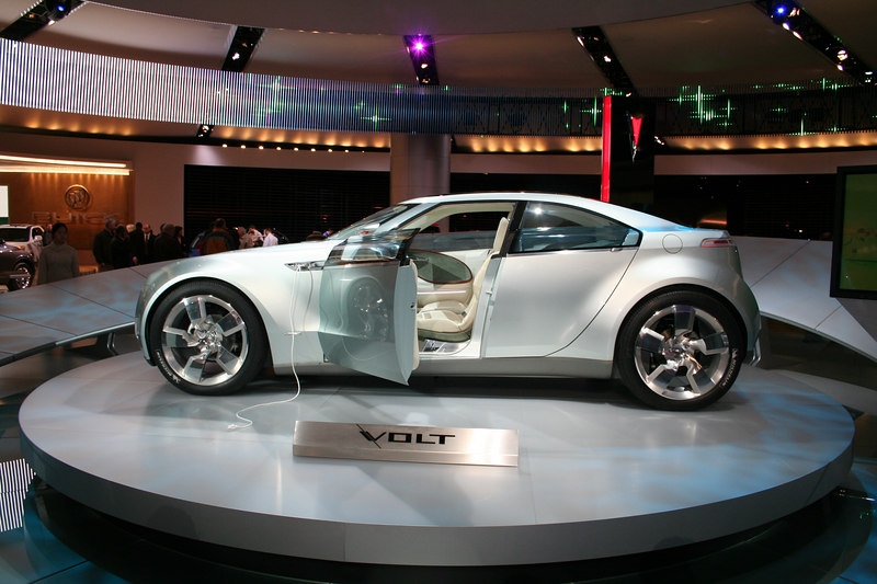 GM Volt Hybrid Concept Car