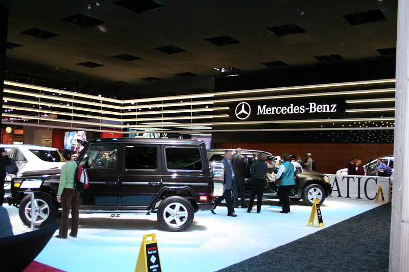Merceds Benz Ice Rink